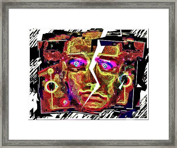 Equilibrium  Lost Framed Print