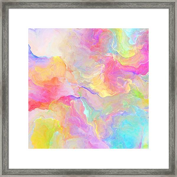 Eloquence - Abstract Art Framed Print