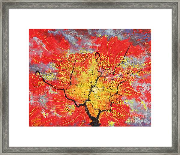 Embracing The Light Framed Print
