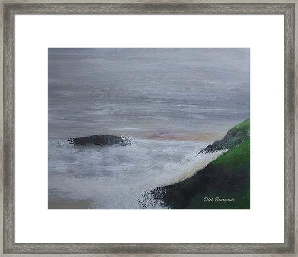 Emerald Isle Framed Print