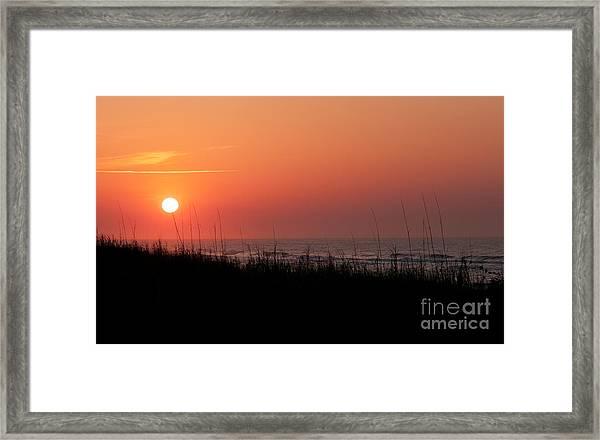 Emerald Isle Sunrise II Framed Print