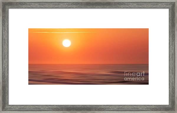 Emerald Isle Sunrise Framed Print