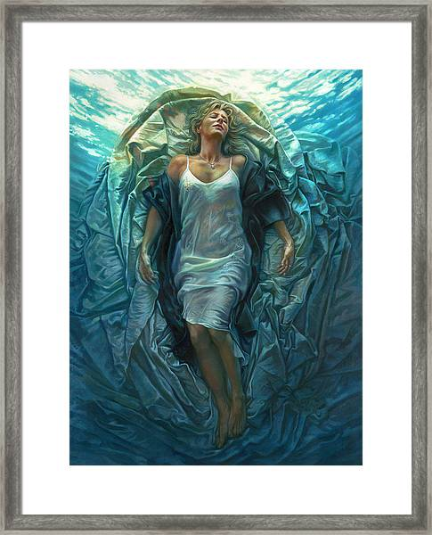 Emerge Lighter Version Framed Print