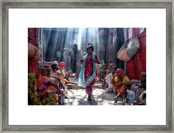 Emergence Framed Print