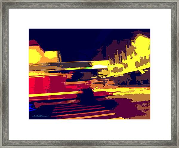 Emergency Framed Print