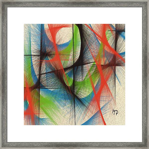 Emerging Framed Print