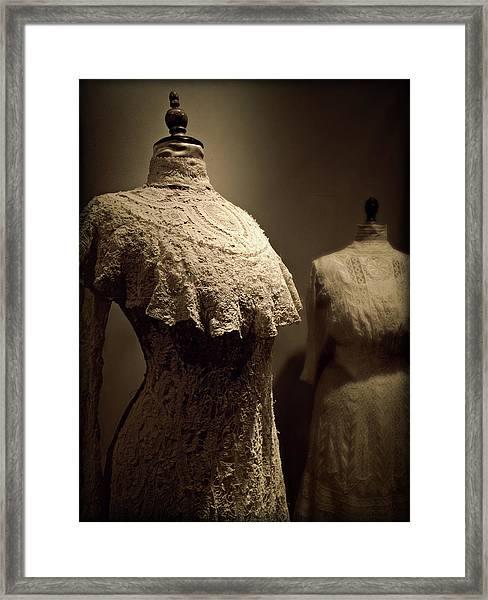 Emma's Boudoir Framed Print