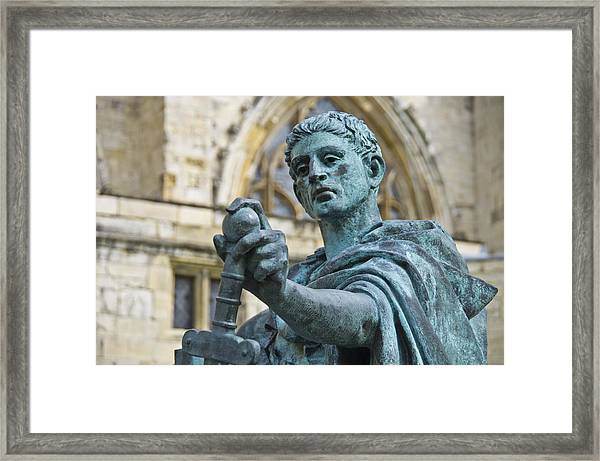 Emperor Constantine Framed Print