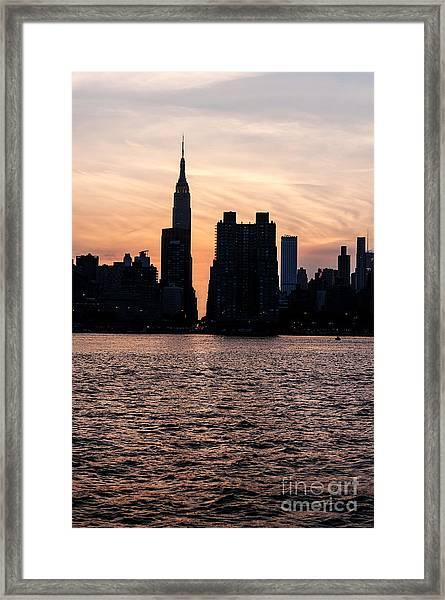 Empire On 5th Avenue Framed Print