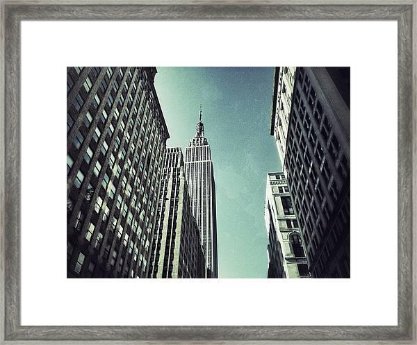 Empire State Building Framed Print