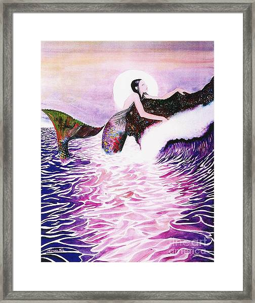 Empress Of The Sea Framed Print