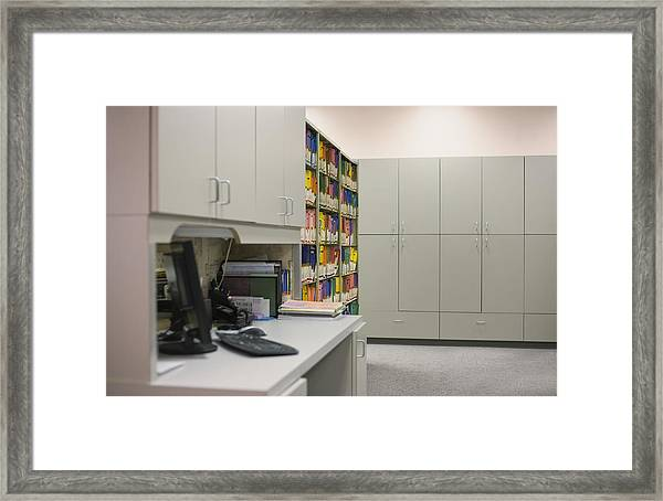 Empty Doctor?s Office Framed Print by Jetta Productions/David Atkinson