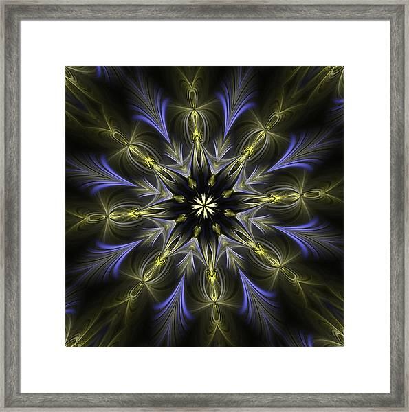 Enamored Mandala Framed Print