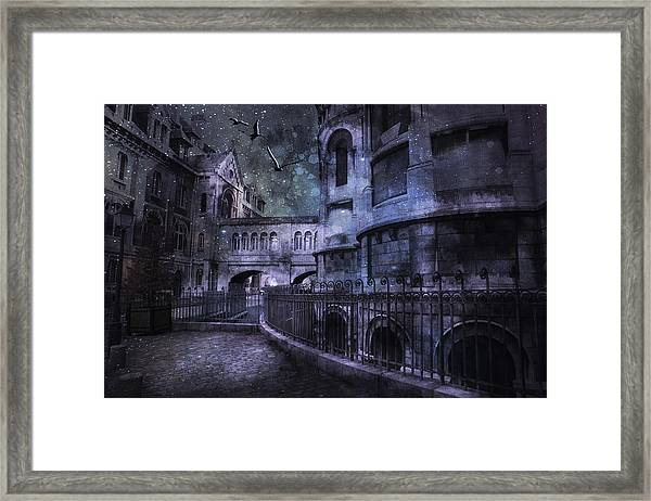 Enchanted Castle Framed Print