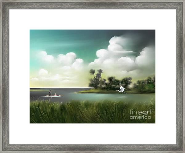 Enchanted Florida Framed Print