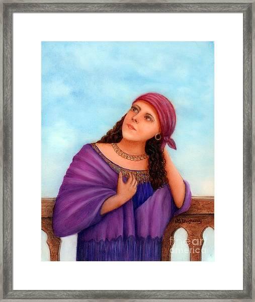 Enchanting Carmelita Framed Print