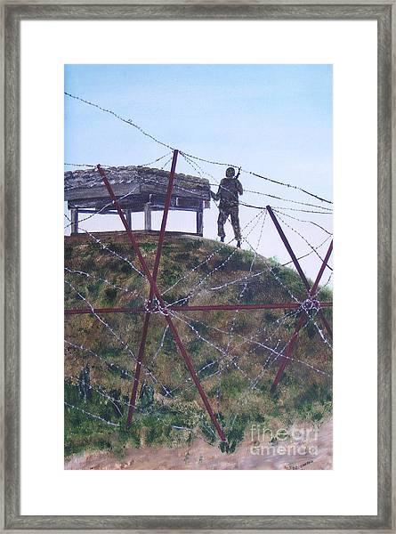 End Of The Third Watch Framed Print by Dana Carroll