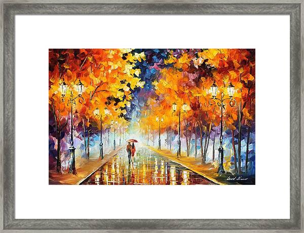 Endless Love Framed Print by Leonid Afremov