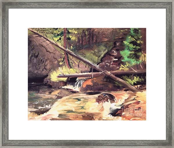 Endo Valley - Colorado Framed Print