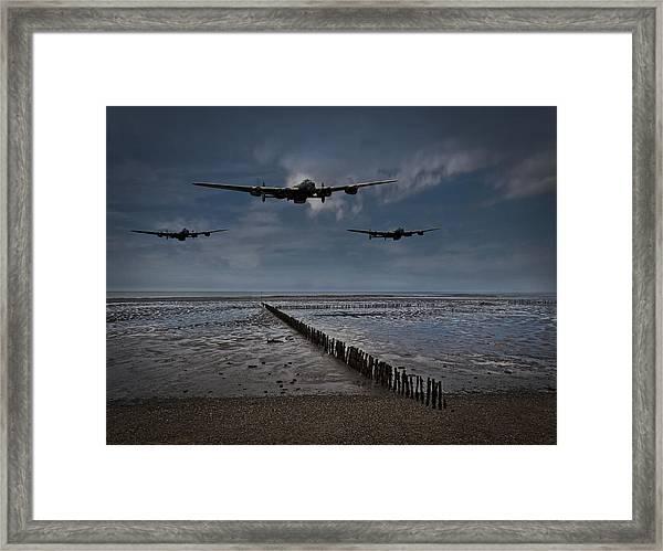 Enemy Coast Ahead Skipper Framed Print