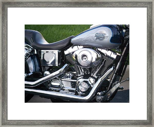 Engine Close-up 5 Framed Print