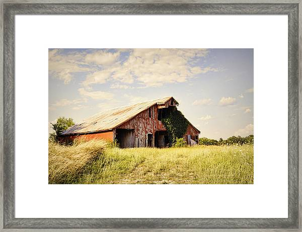 Englewood Barn Framed Print