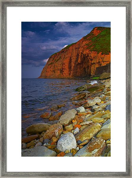 English Coastline Framed Print