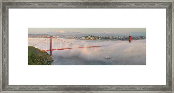 Engulfed Framed Print by David Scarbrough