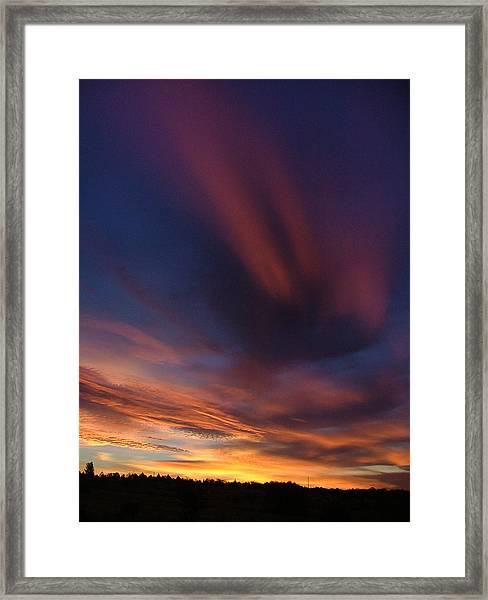 Ennis Sunrise Framed Print