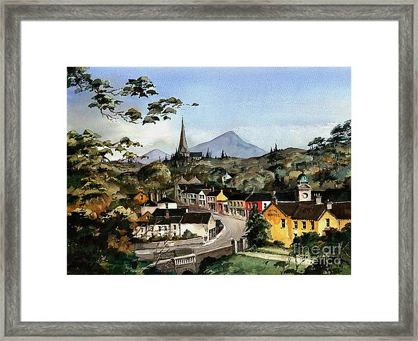 Enniskerry Panorama Wicklow Framed Print