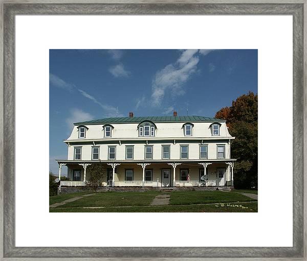 Enosburg Vermont Framed Print