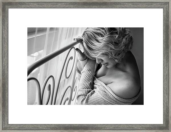Enough Is Enough Framed Print