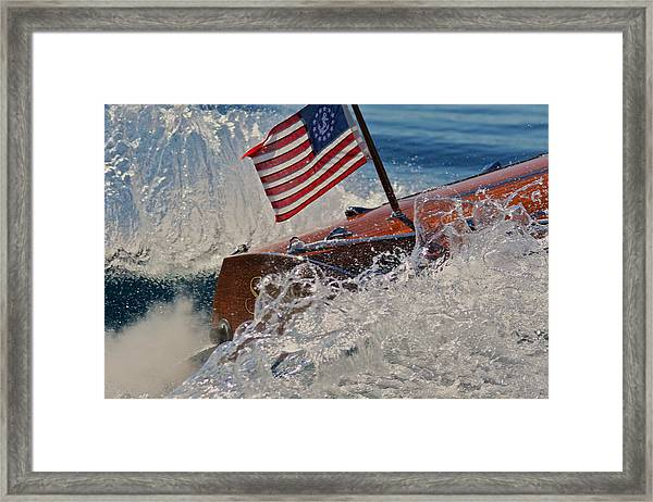 Now Is The Time To Buy Framed Print