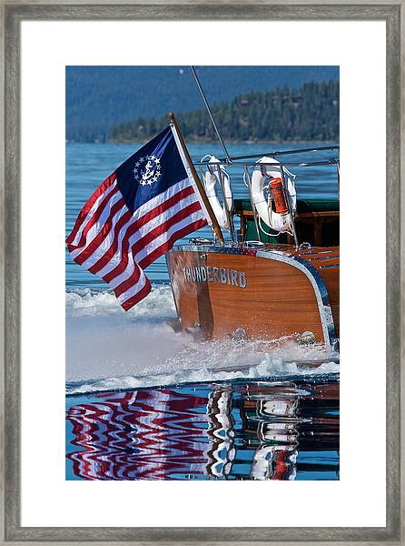 How Proud - Happy 4th Framed Print