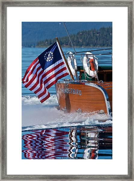 How Proud - Flag Day Framed Print