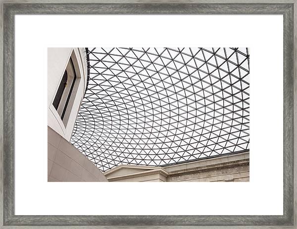 Entranced Entrance Framed Print