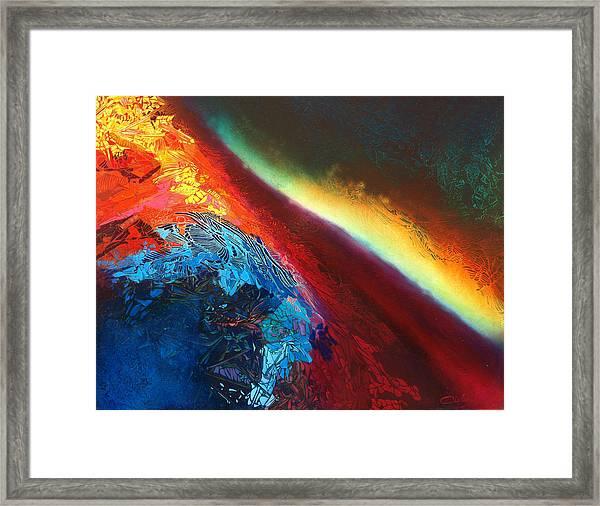 Entre Deux-mondes Framed Print by Bielen Andre