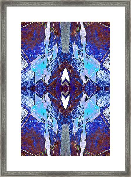 Entropic Four Way Pairs 2013 Framed Print