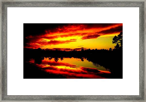 Epic Reflection Framed Print