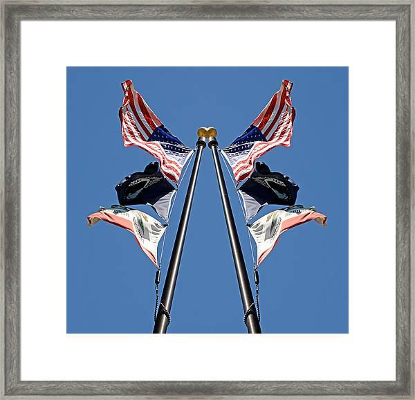 Equal Flag Spirit 2013 Framed Print