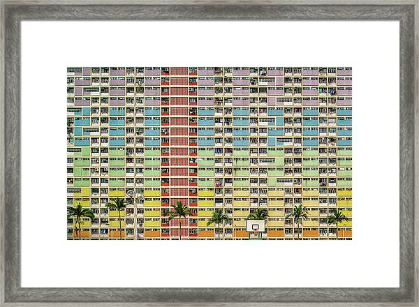 Equalizer Framed Print by Fahad Abdualhameid