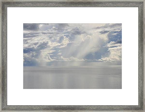 Framed Print featuring the photograph Equatorial Haze by Debbie Cundy