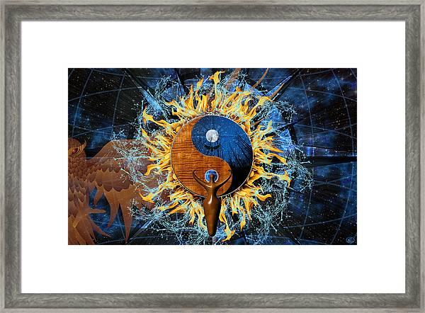 Equilibria Framed Print