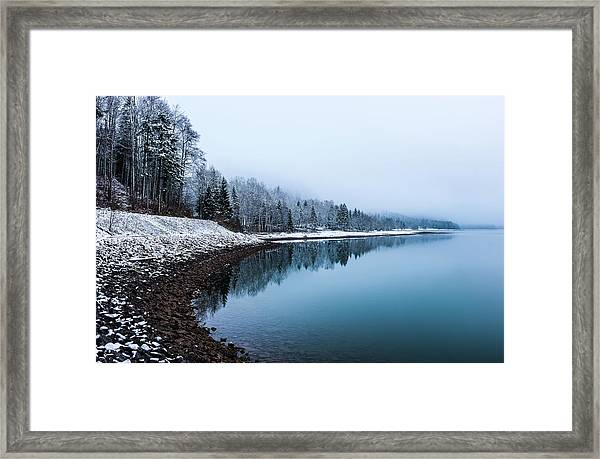 Equilibrium Framed Print by Andreas Agazzi