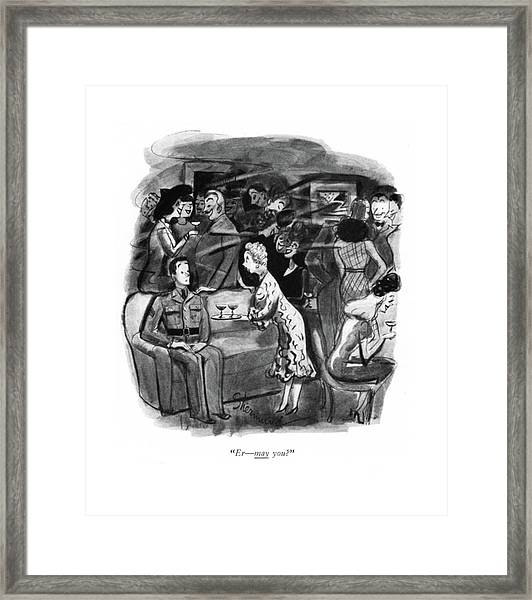 Er - May You? Framed Print