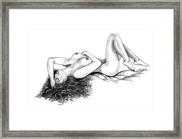 Erotic Dreams By Spano Framed Print