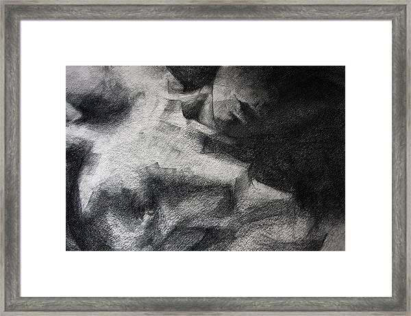 Erotic Sketchbook Page 1 Framed Print