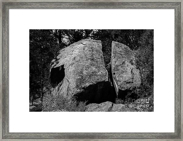 Erratic Framed Print