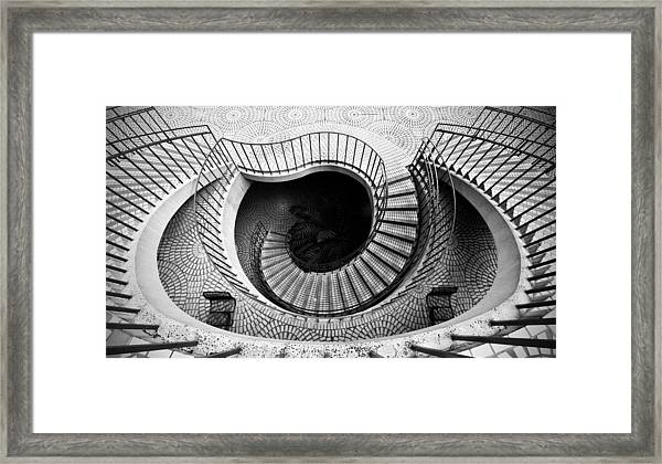 Escheresque Framed Print