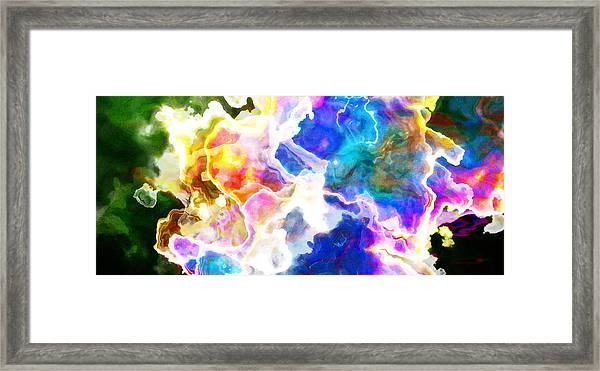 Essence - Abstract Art Framed Print